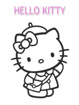 Kolorowanka Hello Kitty
