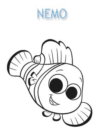 Kolorowanki Nemo
